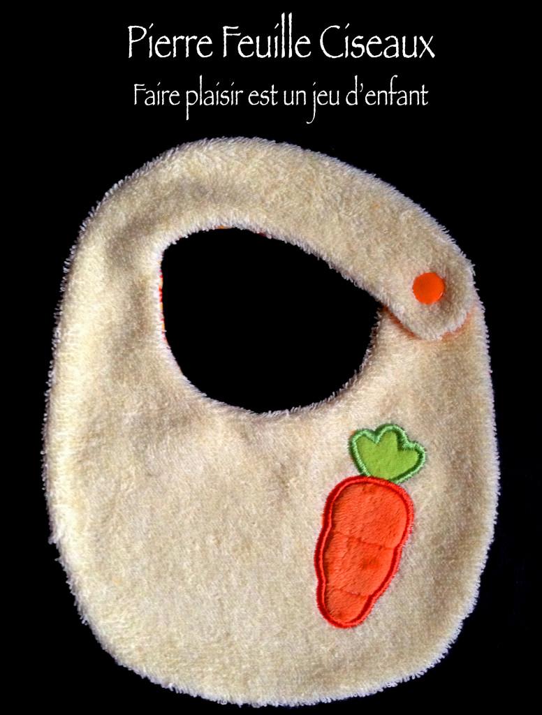 bavoirs carotte 01