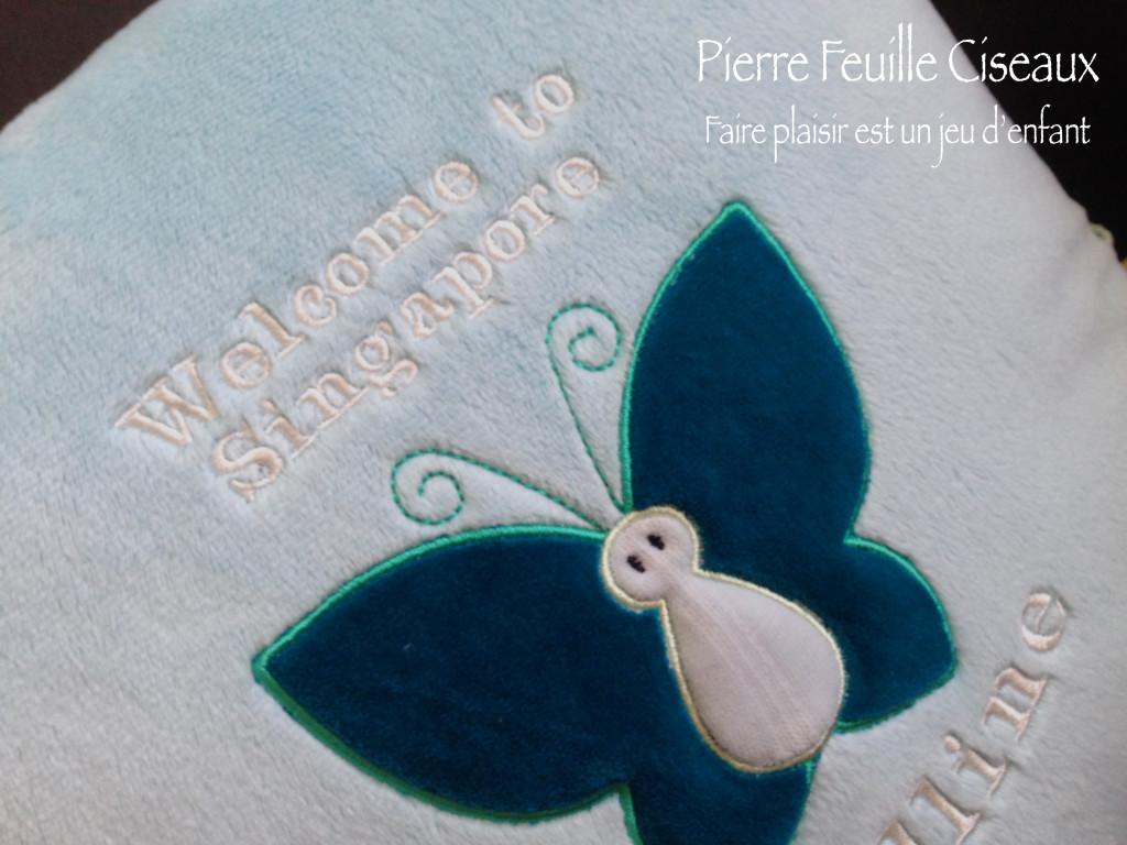 coussin papillon 08