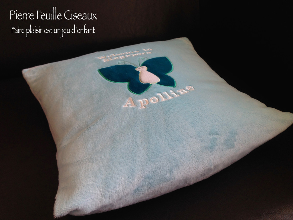 coussin papillon 09